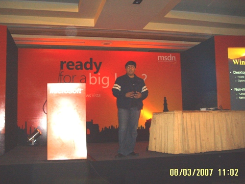 Windows Vista Developer Session by Vineet Gupta